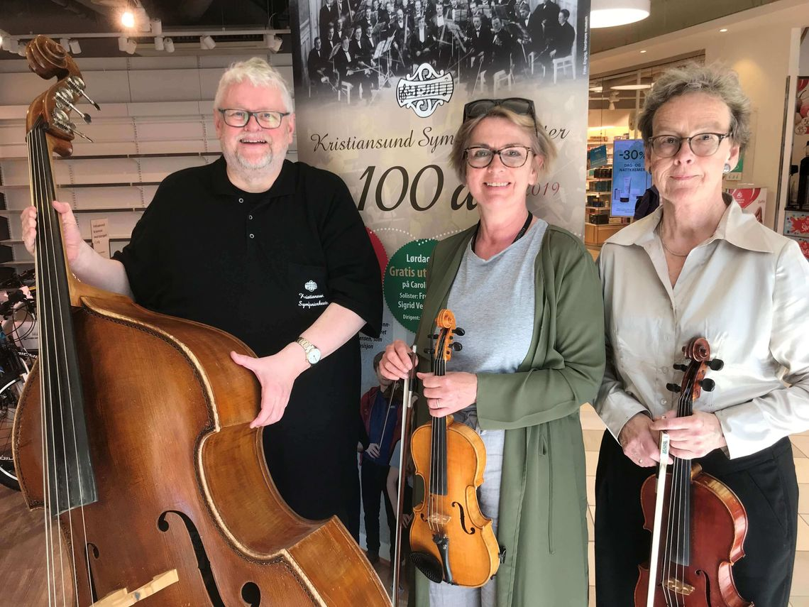 Pop-up trio Williamsen, Lerdahl og Helseth